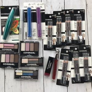 Cover Girl 18-pc. Cosmetic Lot, Mascara, Eyeshadow